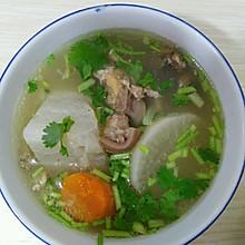 白萝卜炖羊肉汤