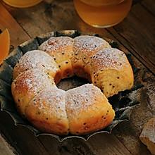 藜麦南瓜包~花朵面包