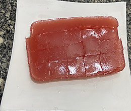 西瓜果冻的做法