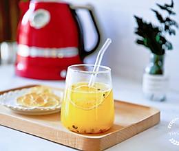 """想要""""白瘦美"""",每天一杯百香果柠檬蜂蜜水!的做法"""