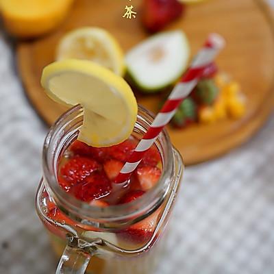 夏天的酸甜滋味--水果冷泡茶