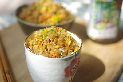【儿时的味道】酱油炒饭——豆果菁选酱油试用