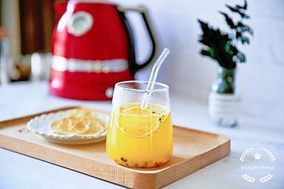 """想要""""白瘦美"""",每天一杯百香果柠檬蜂蜜水!"""