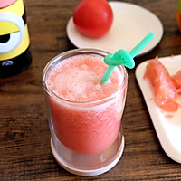 番茄柚子汁的做法图解8