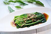 芝麻菠菜#我要上首页挑战家常菜#的做法