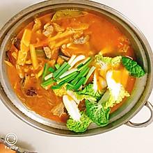 最简单好吃的番茄牛肉火锅