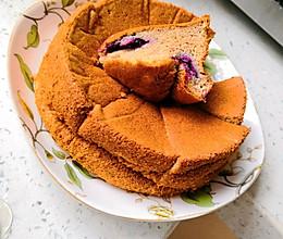 蓝莓爆浆杂粮蛋糕 无麸质的做法