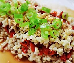 适合新手的  蒜蓉剁椒金针菇的做法