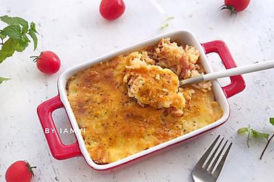 培根番茄焗饭