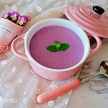 紫甘蓝浓汤