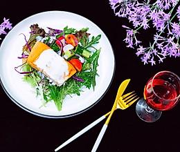 三文鱼酸奶沙拉的做法