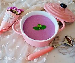 紫甘蓝浓汤的做法