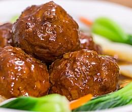 扬州狮子头|美食台的做法