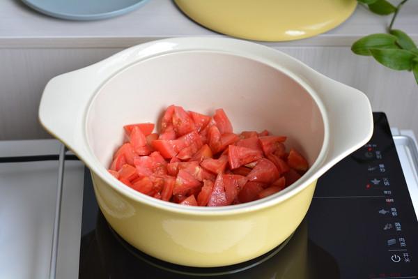 #做道懒人菜,轻松享假期# 番茄牛肉煲