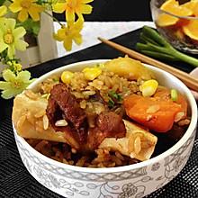土豆羊肉抓饭