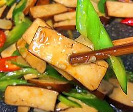 下饭又开胃的辣炒香干的做法