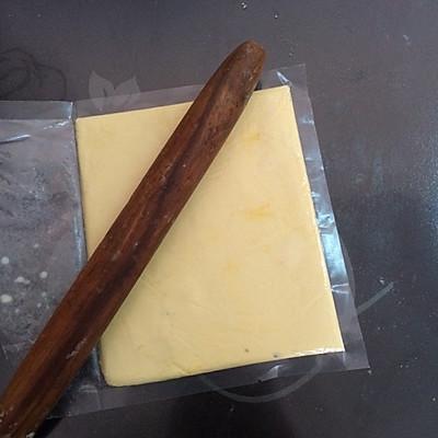 酥脆蛋挞皮制做的做法 步骤3