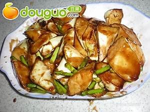 美食:蚝油茭白 的做法
