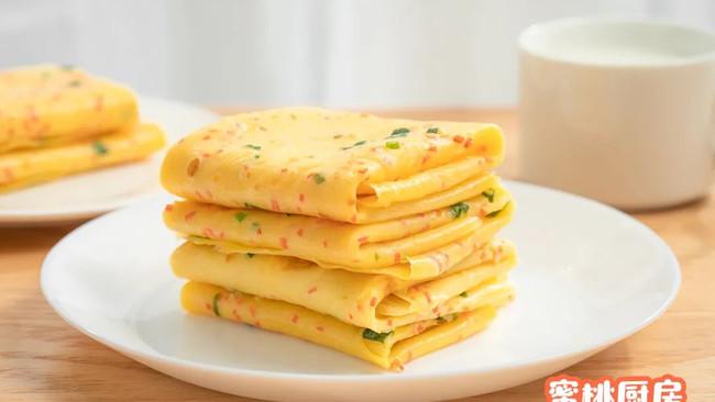 早餐鸡蛋饼的做法