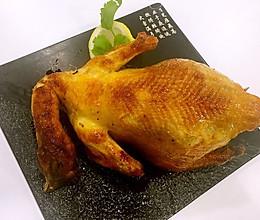 香烤三黄鸡的做法