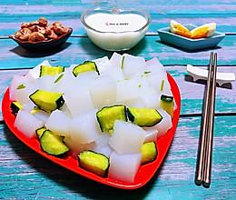 #元宵节美食大赏#凉粉拌黄瓜的做法
