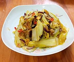 干锅娃娃菜的做法