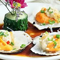 【彼得海鲜】家常菜快手菜之蒜蓉粉丝蒸夏夷贝扇贝