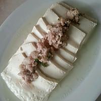 肉末剁椒蒸水嫩豆腐的做法图解3
