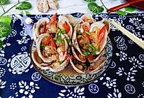 葱姜炒红心蛤的做法