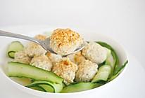 #春天肉菜这样吃#减脂餐鸡胸肉丸子的做法