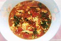 狮家配方番茄鸡蛋汤的做法