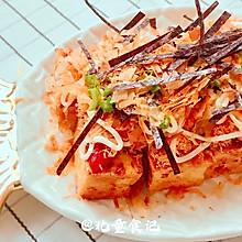 #豆果10周年生日快乐#瘦身小吃:煎豆腐仿章鱼小丸子