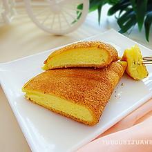 #糖小朵甜蜜控糖秘籍# 巨好吃又好做的平底锅舒芙蕾蛋糕