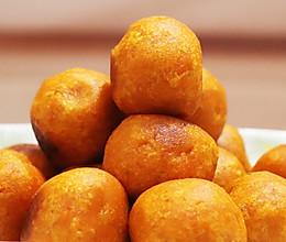 烤红薯 - 油炸红薯丸子的做法