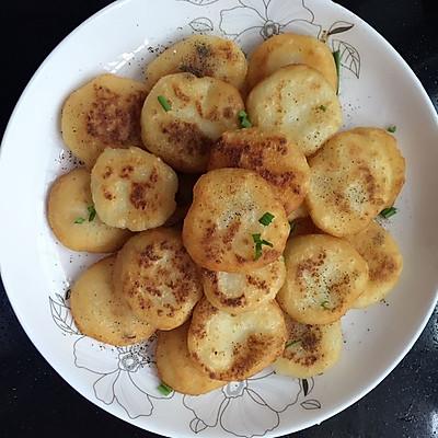 糯糯的小土豆饼