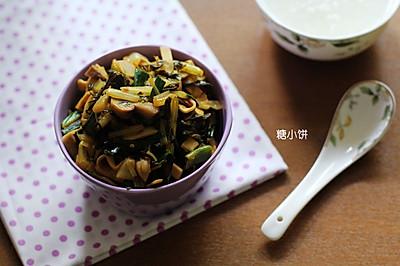 佐餐小菜【冬腌菜杂炒】只有这个时候才能吃到