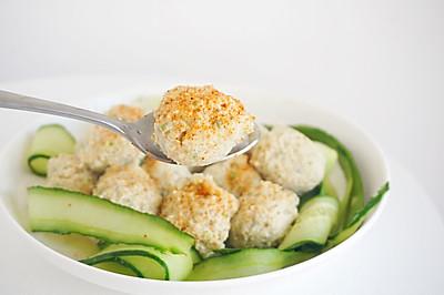 #春天肉菜这样吃#减脂餐鸡胸肉丸子