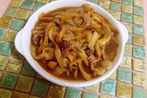 蘑菇炒肉&】平菇的做法