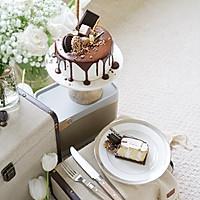 巧克力淋面蛋糕-祝自己生日快乐的做法图解32