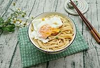 懒人版早餐——鸡蛋面条的做法
