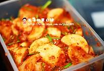 韩国泡萝卜的做法