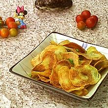 #柏翠辅食节-烘焙零食#空气炸锅版炸土豆片
