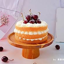 #一道菜表白豆果美食#车厘子裸蛋糕