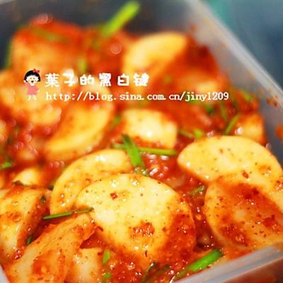 韩国泡萝卜