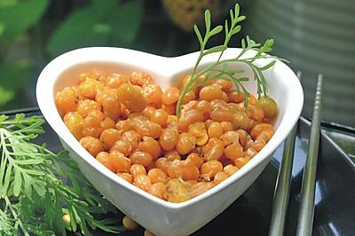 孜然香酥小黄豆