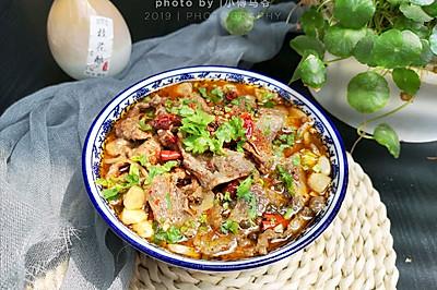 水煮牛肉(微麻微辣版)
