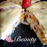 草莓芒果千层蛋糕的做法图解23