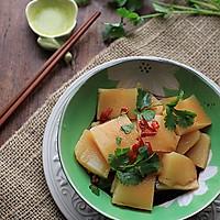 【胡萝卜肉皮冻(豆浆机版)】——懒办法巧做美颜菜的做法图解1