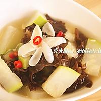 秋季汤菜 百合木耳炖冬瓜