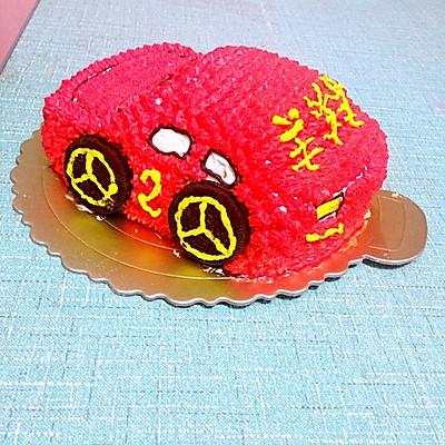 汽车蛋糕的做法 步骤10